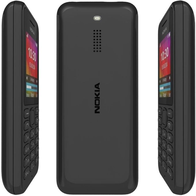 MOBILE PHONE NOKIA N130 DUAL SIM - 1.8 INCH  DUAL SIM+BT + FM radio + CAMERA - GRAY ,Android Smartphone