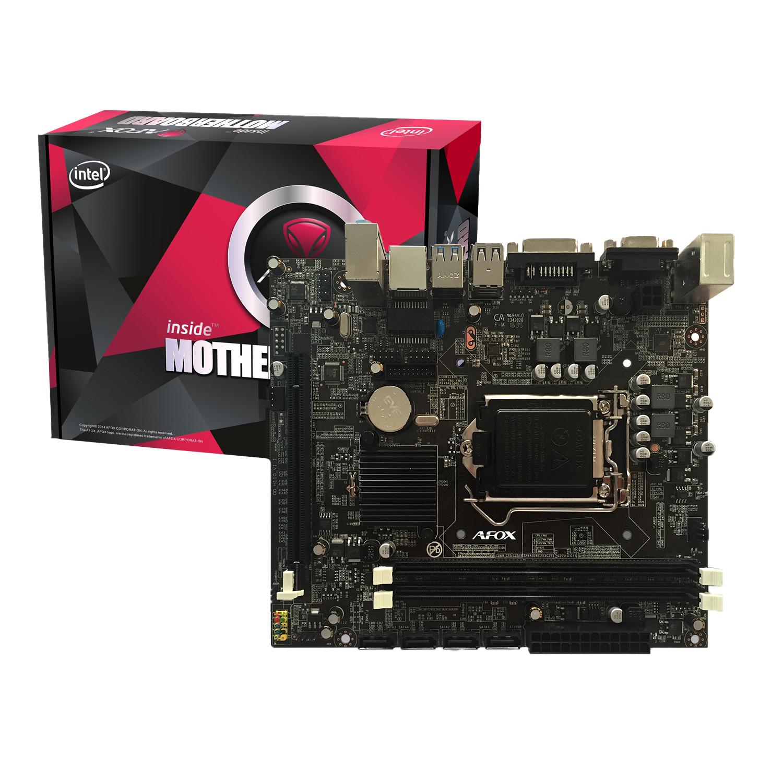 MB AFOX I7 INTEL H110M SOK1151 DDR4+SB+LAN+USB3+VGA+DVI H110M ,Desktop Mainboard