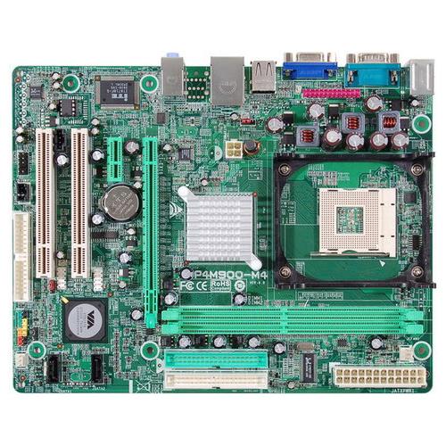 MB BIOSTAR P4 VIA M900-M4 SOK478 DDR2SB+VGA+LAN + CPU INTEL 3 GH +FAN  مستعمل ,Other Used Items