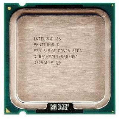 CPU INTEL P-D 3GHZ PC800 SOK775 DUALCORE TRAY 4MB 925 ,Desktop CPU