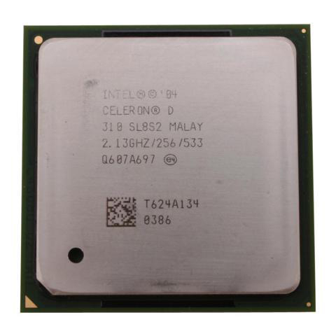 CPU CELERON 2.13GHZ 256 CACHE SOK 478 TRAY مستعمل ,Other Used Items