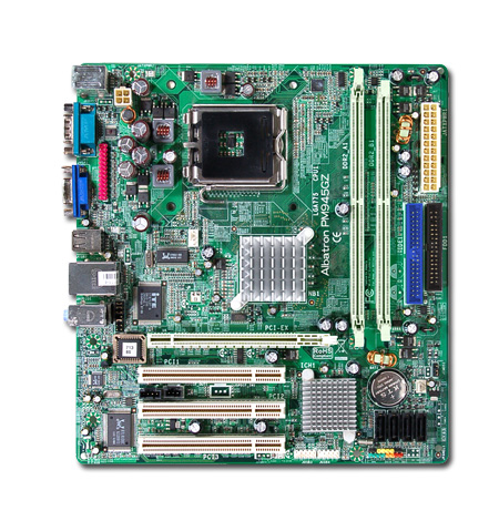 MB ALBATRON INTEL 945 DDR2 SOK775+SB&VGA&LAN PM945 GZ ,Desktop Mainboard