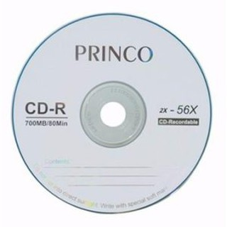 CD BLANK PRINCO 700MB 56X بدون علبة ,Blank CD & DVD