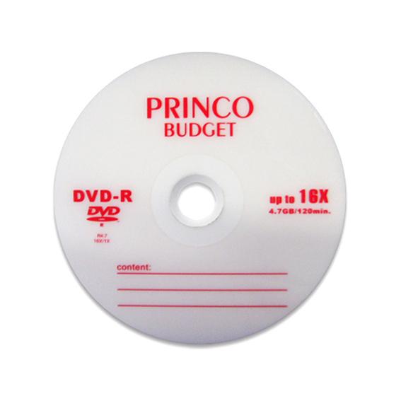 CD BLANK DVD-R PRINCO 4.7GB 16Xبدون علبة ,Blank CD & DVD