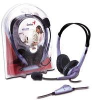 HEADSET GENIUS HS-04S ,Headphones & Mics