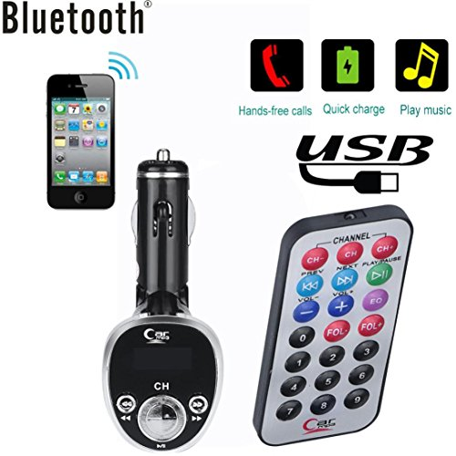 CAR FM TRANSMIT+REMOTE CONTROL WITH SCREEN ,Media Players Accessories