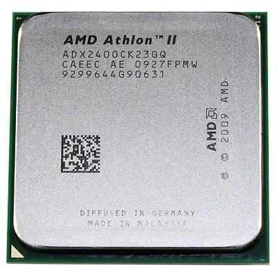 CPU AMD ATHLON II X2 DUAL-CORE 240 2.8GHZ 2MB CACHE AM3 +FAN ,Desktop CPU
