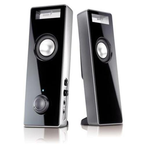SPEAKER GENIUS SP-I220 GOLD SLIM WITH 3D SURROUND, Speakers