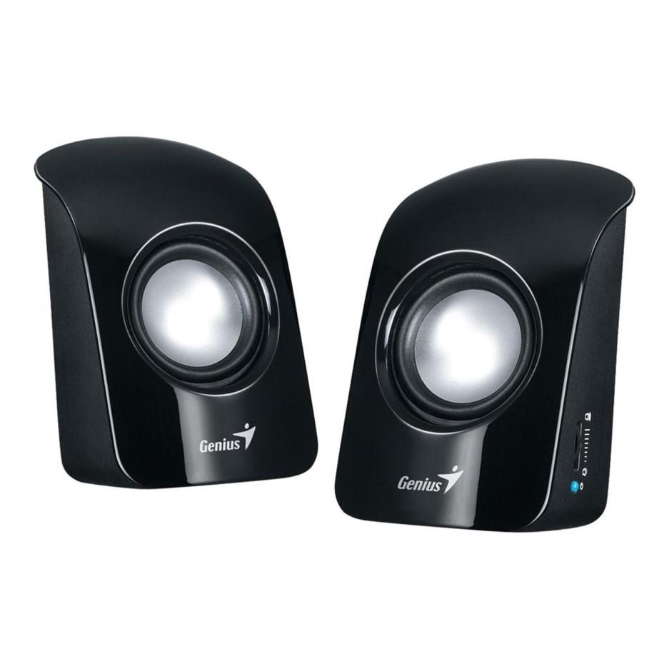 SPEAKER GENIUS SP-U115 BLACK USB, Speakers