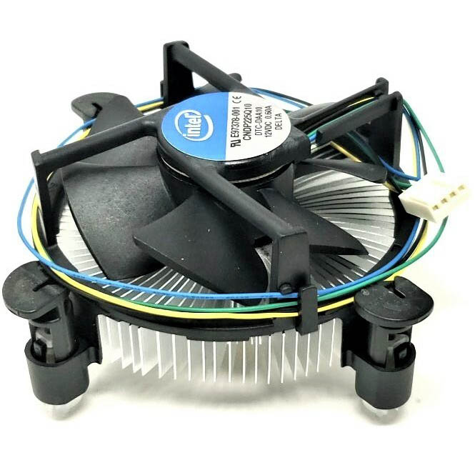 FAN P4 FOR SOK 1155 INTEL ORIGINAL مستعمل ,Other Used Items