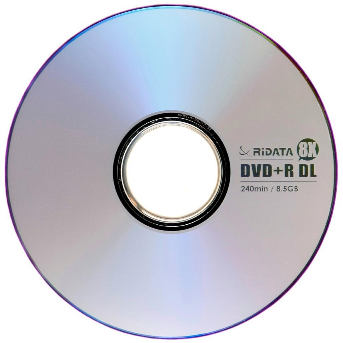 CD BLANK DVD+R DOUBLE LAYER RIDATA 8.5G 8X ,Blank CD & DVD
