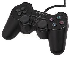 JOYSTICK SONY FOR PLAYSTATION2 DUALSHOCK2 BOX COPY ,Controller & Joystick