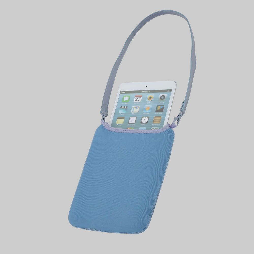TABLET-ACC BAG+STAND 7-10INCH CROWN CORAL TCCR10BU BLUE ,Smartphones & Tab Covers