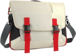 NOTEBOOK BAG 15.6 CROWN HARMONY CCH3315WR WHITE RED ,Laptop Bag