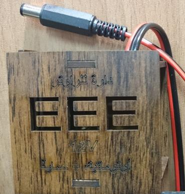 دارة لتشغيل الراوتر 12V فولت على البطارية مع أتوماتيك وحماية للراوتر ,Other Acc