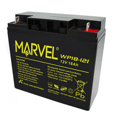BATTERY FOR UPS 12V/18A MARVEL, Batteries