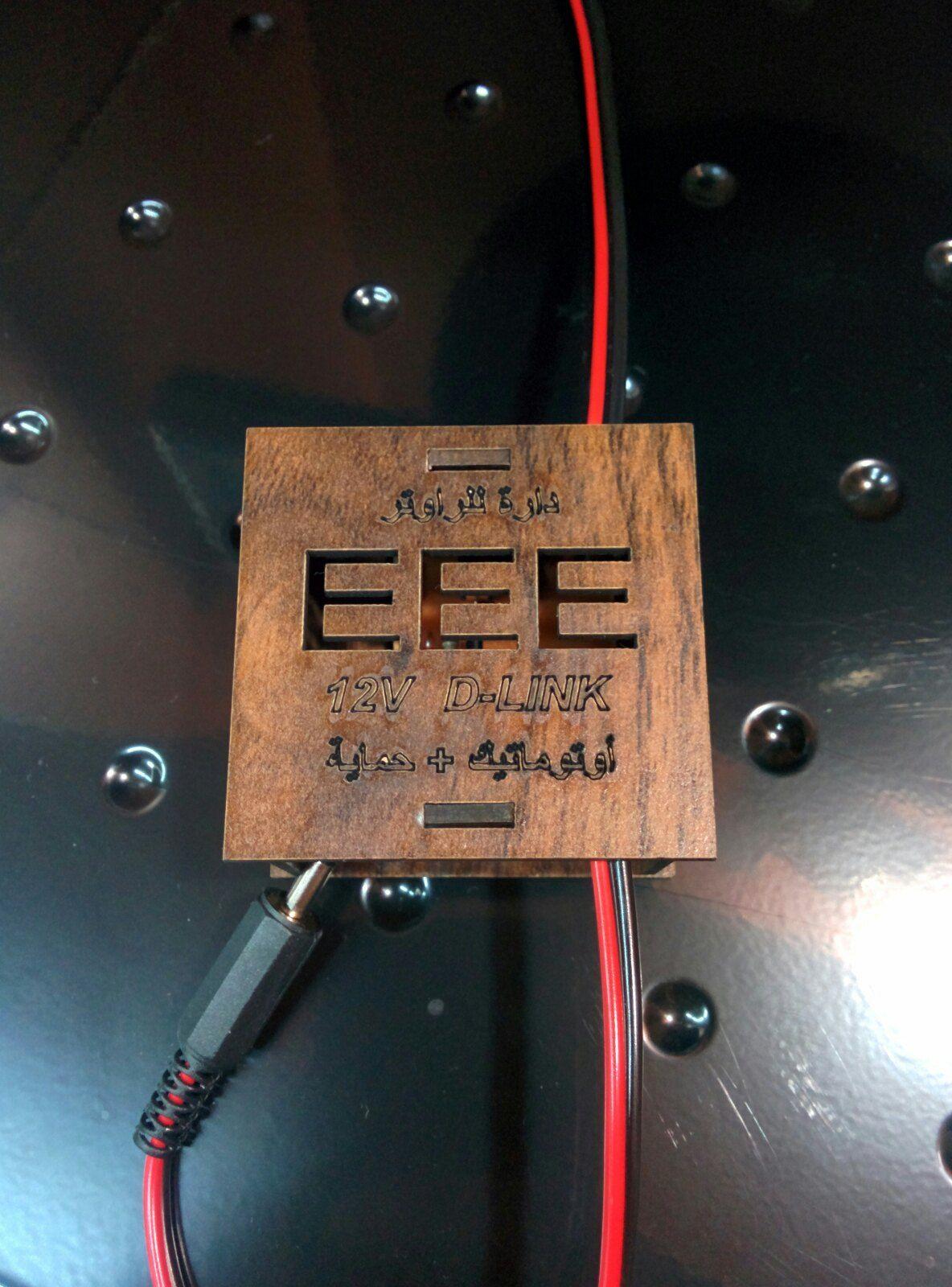 دارة لتشغيل راوتر D-LINK 12V فولت على البطارية مع حماية للراوتر ,Other Acc