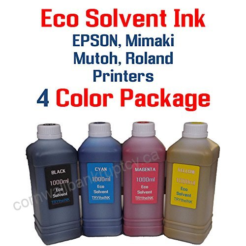 INK JETBEST FOR ROLAND PRINTER ECO SERIES 500ML YELLOW ,Ink & Toner