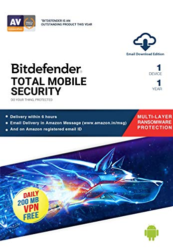 Bitdefender Security for Android - 3 Months Card ,BitDefender