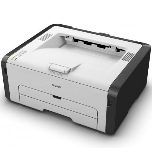 PRINTER  RICOH  LASER BLACK SP201N ,Laser Printer