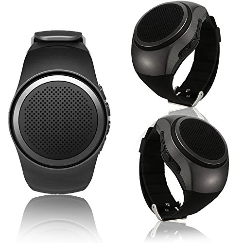 SPEAKER BLUETOOTH WRISTWATCH  BLUETOOTH &CARD & FM& MP3 & MOBILE B-20 ساعة يد, Speakers