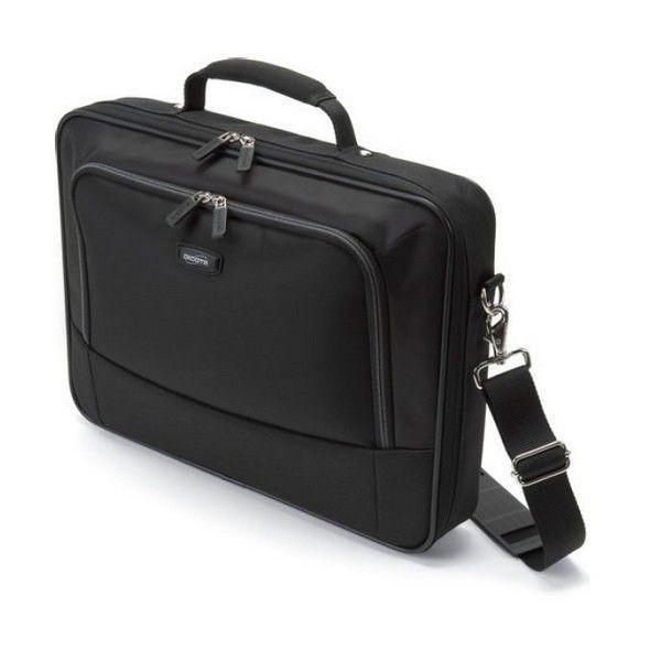 NOTEBOOK BAG DICOTA CLASSIC COMPACT ORIGINAL  15.0 UP TO 16.4 - BLACK CLOTH قماش ,Laptop Bag