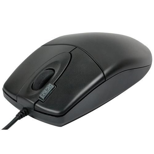MOUSE OPTICAL INFINITY OP-17 BLACK PS2 ,Mouse