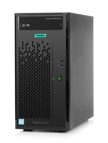 SERVER HP  ProLiant ML10 Gen9 CPU 3.1 8M 8G RAM 1TERA X2 HDD DVD 300W POWER ,Server PC