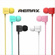 WIRED HEADSET REMAX FOR IOS/ANDROID VOLUME & CALL CONTROL EARPHONE 502 - COLOR ,Headphones & Mics