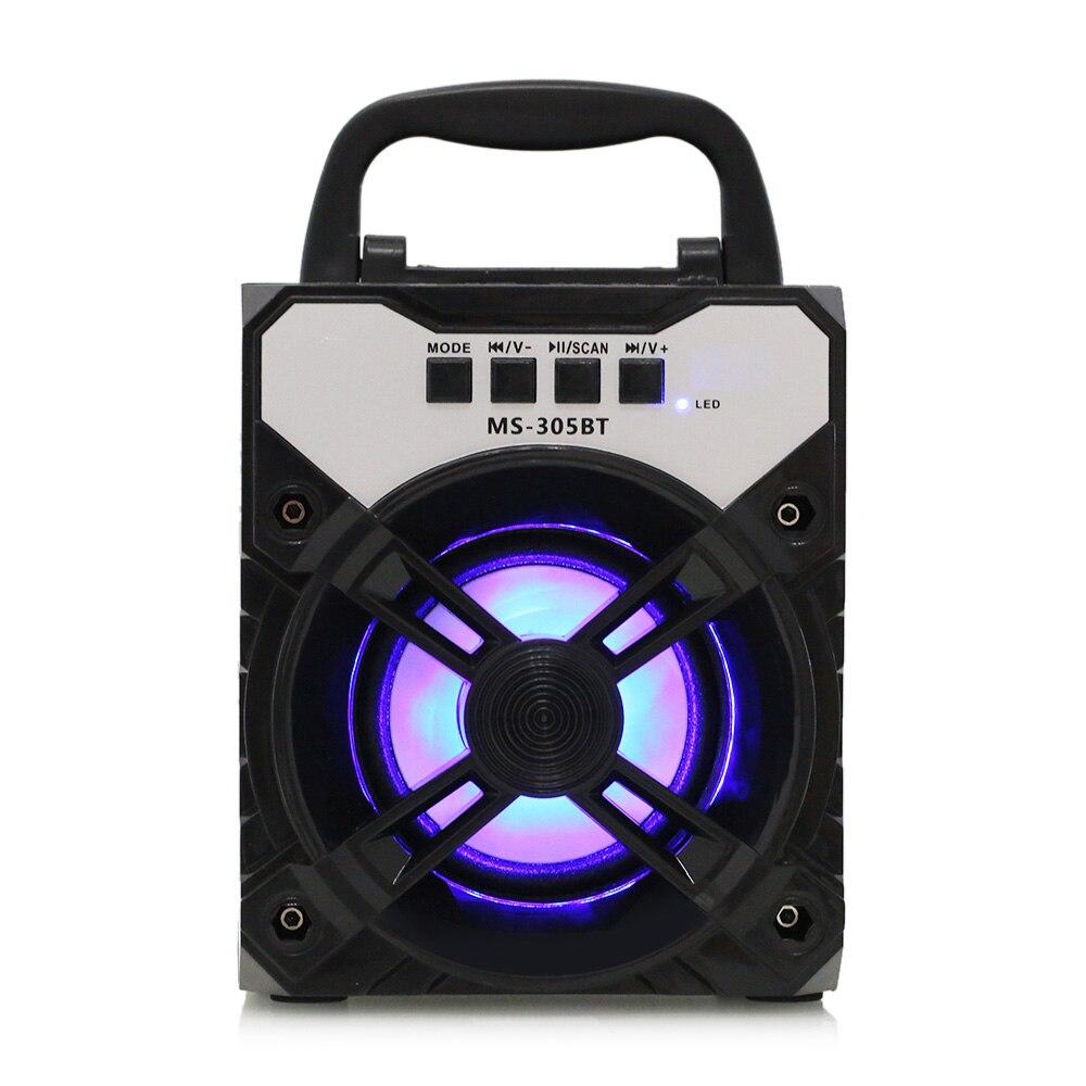 SPEAKER BLUETOOTH MS-305/6/7/8 BT DUAL-FLAT FOR MP3 & MOBILE & FM & SD CARD USB BIG COLOR ,Speakers