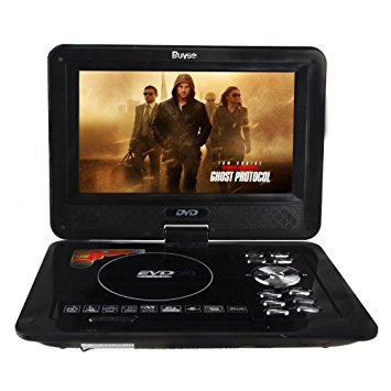 VCD DVD PLAYER BRAVIA PORTABLE 12 INCH DC-12V NS-K-9808 BLACK ,DVD Player