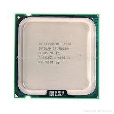 CPU INTEL CELERON 2.4GHZ PC800 775 1MB CACHE E3200 مستعمل ,Desktop CPU