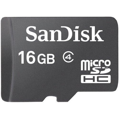 RAM 16GB MICRO SD FLASH CARD SANDISK CLASS 4 ,Flash Card