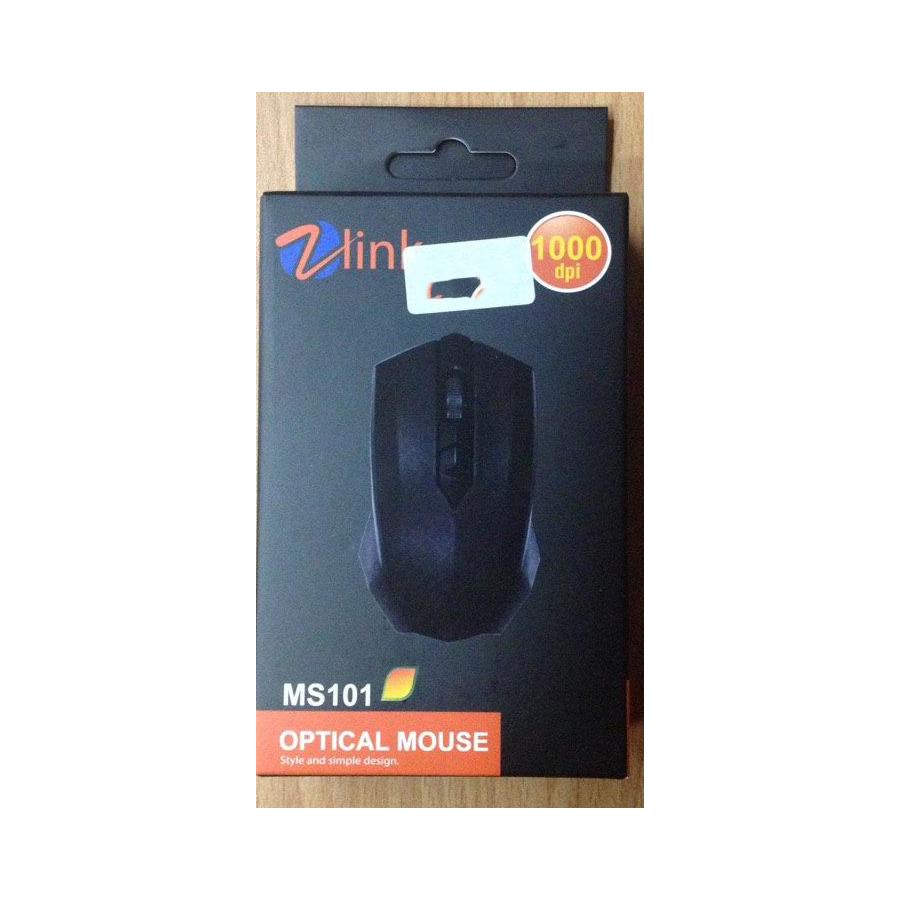 MOUSE ZLINK MS-101 COLOR 1000 DPI ,Mouse
