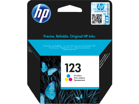 INK HP 123 COLOR ORIGINAL ,Inkjet Printer
