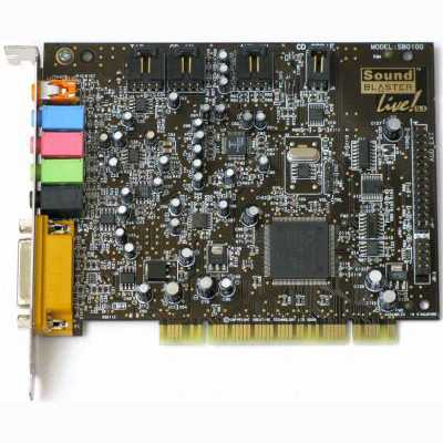 SOUND CARD  مستعمل ,Other Used Items