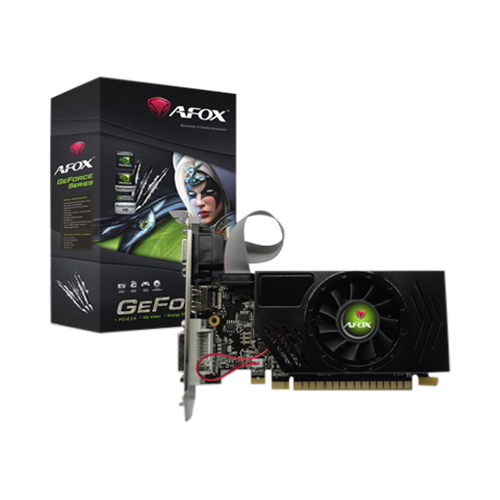 VGA 2G AFOX GEFORCE DDR3 DVI & VGA & HDMI PCI-E GT710/64BIT ,Desktop Graphic Card