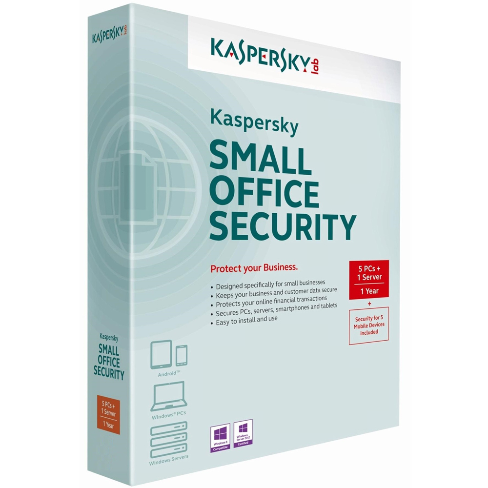 Kaspersky Small Office Security 5 USERS + 1 SERVER ,KASPERSKY