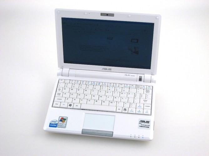 NOTEBOOK ASUS EEE PC900-W061 1G HD30GB 8.9 TFT   مستعمل بطاريه ساعه ونص ,Used Laptops