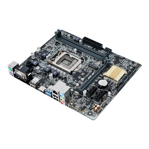 MB GFOX I7 INTEL H110M PRO-VDL SOK1151 DDR4+SB+LAN+USB3+VGA+DVI H110M, Desktop Mainboard