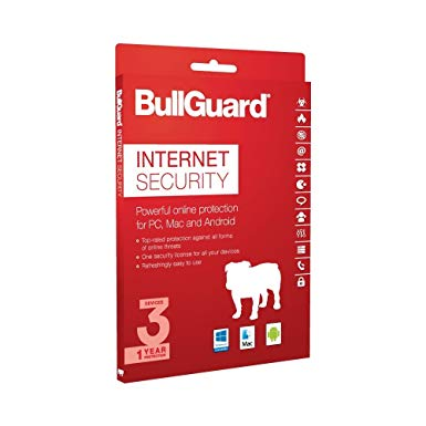 Bullguard internet security 3 device 1 year, Multi device