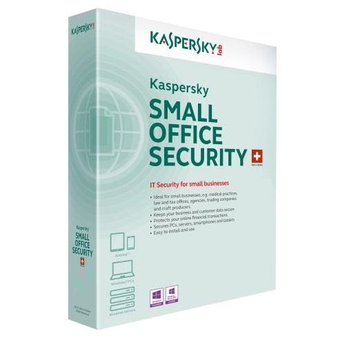 Kaspersky Small Office Security 10 USERS + 1 SERVER, KASPERSKY