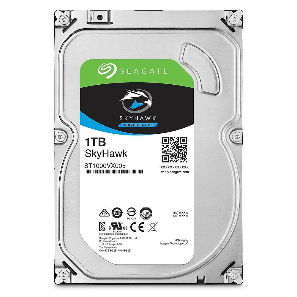 HD 1 TERRA SEAGATE SKYHAWK SATA3 64MB Surveillance ST1000VX005 ,Desktop HDD