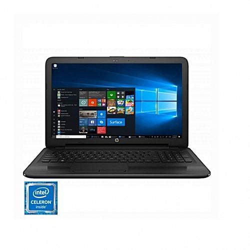 NOTEBOOK HP 15-RA008NIA C-D N3060 1.6GHz UP TO 2.6GHZ 2M 4G HD 500G VGA INTEL HD 15.6 BLACK ,Laptop Pc