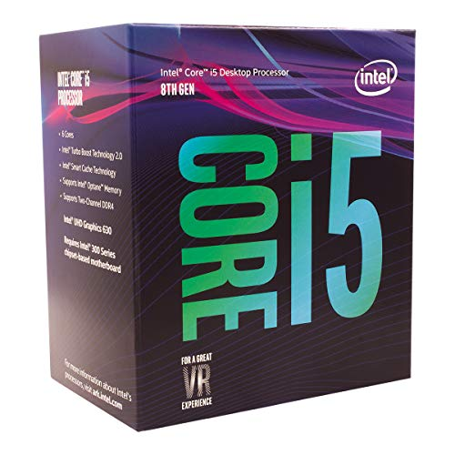 CPU INTEL CORE™ i5 3.60 GHz UP TO 4.30 GHz 9 MB SMART.CACHE SOK LGA 1151 8600K TH GEN Cores 6 Threads