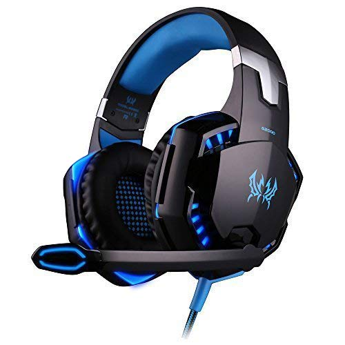 HEADSET GAMING PRO BASS HD G2000 LED KOTION EACH ,Headphones & Mics