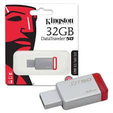 RAM USB 32GB FLASH KINGSTON DataTraveler 50 USB 3.0 ,Flash Memory
