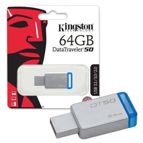 RAM USB 64GB FLASH KINGSTON DataTraveler 50 USB 3.0 ,Flash Memory