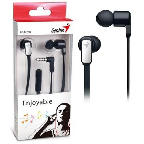 HEADSET GENIUS HS-M260 COLOR ,Headphones & Mics
