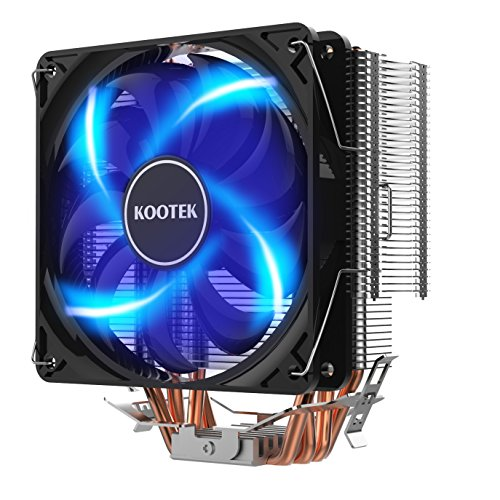 FAN CPU COOLER INTEL&AMD HXHT HF-350 مضيئه براغي ,Fan Cooler